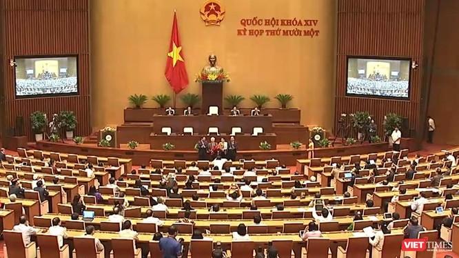 Hôm nay bắt đầu tuần làm việc cuối cùng của Kỳ họp thứ 11 - Quốc hội khóa XIV.