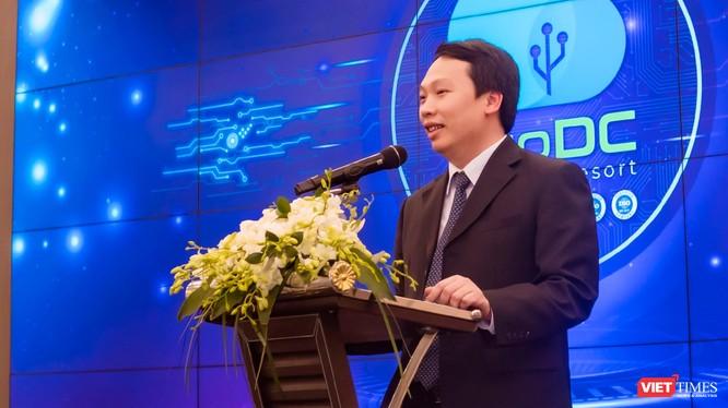 Thứ trưởng Bộ Thông tin và Truyền thông Nguyễn Huy Dũng.