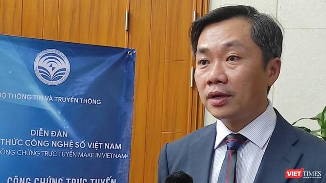 Ông Trần Quốc Bảo - CEO Công ty cổ phần Dịch vụ công chứng trực tuyến CCOL.