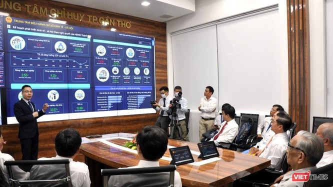 TP. Cần Thơ đã chính thức đưa Trung tâm điều hành thông minh (IOC) đi vào hoạt động.