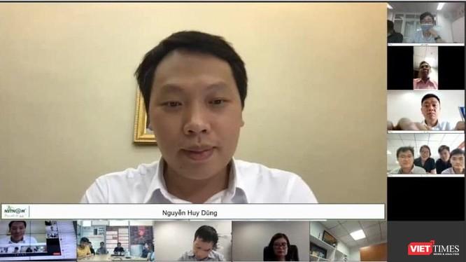 Cuộc họp giao ban trực tuyến tháng 6/2021 giữa Thứ trưởng Bộ TT&TT Nguyễn Huy Dũng với gần 500 cán bộ thuộc khối các đơn vị công nghệ số trong bối cảnh phòng chống dịch bệnh COVID-19.