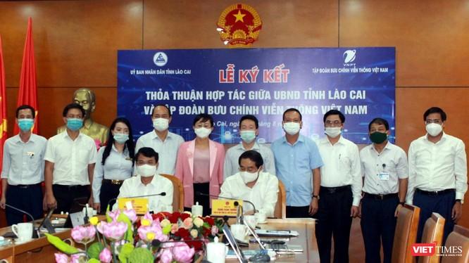 Lễ ký kết thỏa thuận hợp tác giữa UBND tỉnh Lào Cai và VNPT