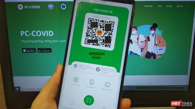 """Ứng dụng có tên """"PC-COVID Viet Nam"""" (tiếng Anh) và """"PC-COVID Quốc gia"""" (tiếng Việt) đã xuất hiện trên 2 kho ứng dụng App Store (iOS) và Google Play Store (Android)."""
