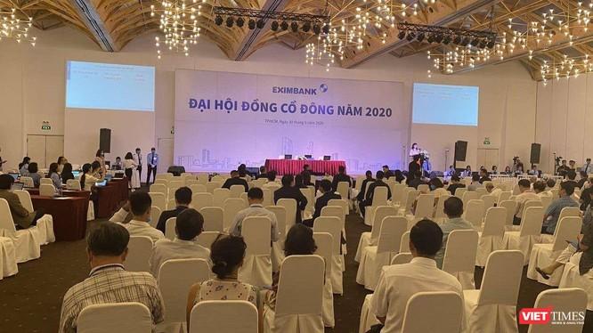 Phiên họp ĐHĐCĐ bất thường năm 2019 và ĐHĐCĐ thường niên năm 2020 của Eximbank được tổ chức tại cùng một địa điểm