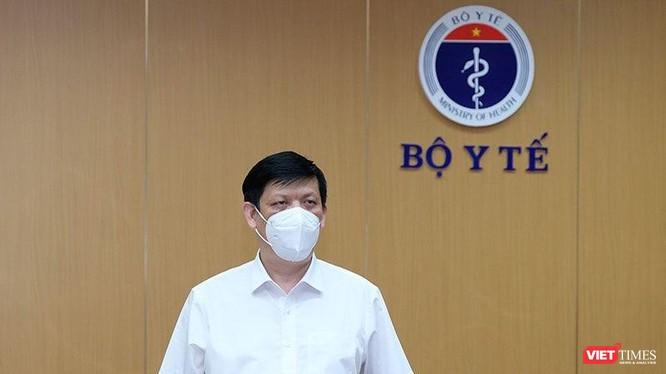 Bộ trưởng Bộ Y tế Nguyễn Thanh Long (Ảnh: BYT)