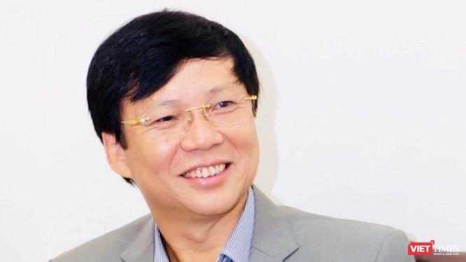Nhà báo Hồ Quang Lợi, Phó Chủ tịch thường trực Hội Nhà báo Việt Nam.