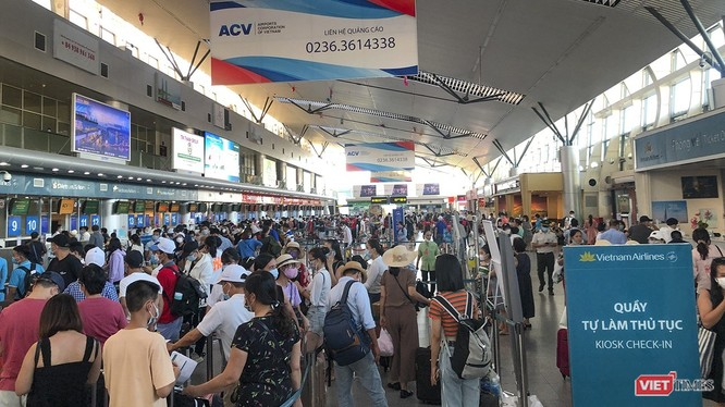 Còn khoảng 3.000 du khách lưu trú tại Đà Nẵng sau lệnh giãn cách xã hội. Ảnh minh họa: Xuân Mai