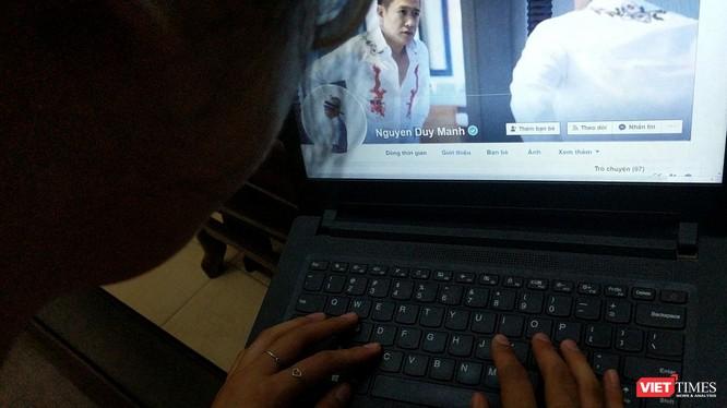 Tài khoản Facebook Nguyen Duy Manh với những phát ngôn gây nhiều tranh cãi trong cộng đồng mạng.