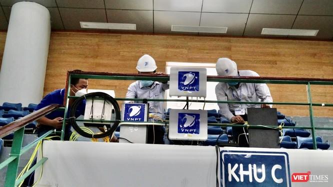 VNPT tăng số trạm phát sóng 4G xung quanh khu vực bệnh viện dã chiến Đà Nẵng.