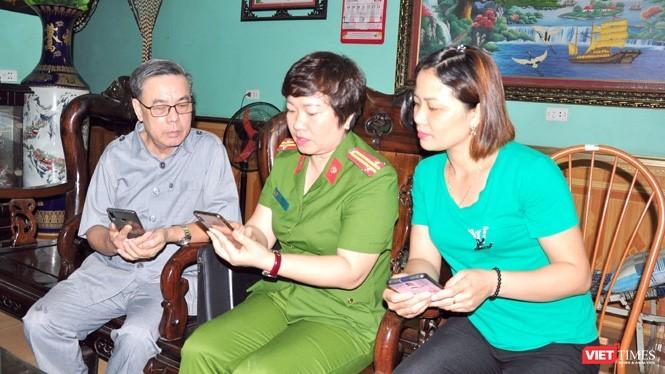 Người dân Tuyên Quang có thể tương tác với lực lượng Công an qua Zalo.
