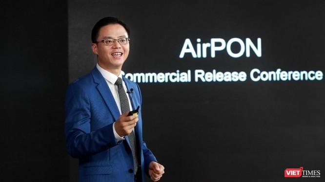 Giải pháp AirPON đầu tiên được Huawei ra mắt vào tháng 2/2020 và bản thương mại được công bố ngày 7/9/2020.