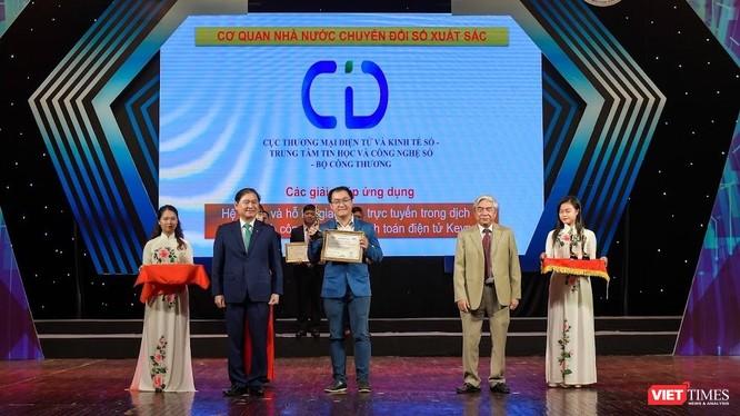 Keypay là một trong 7 sản phẩm nhà nước được trao Giải thưởng Chuyển đổi số Việt Nam 2020.