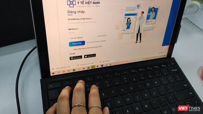 """100% cán bộ, thầy thuốc và nhân viên y tế đang làm việc tại các đơn vị y tế công lập và y tế tư nhân phải được tiếp cận với """"Mạng kết nối y tế Việt Nam""""."""