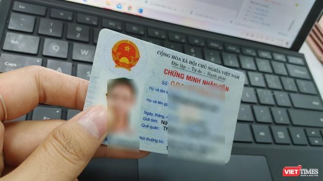 Hà Nội cấp thẻ Căn cước công dân gắn chip từ ngày 1/1/2021