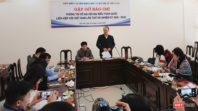 Họp báo trước thềm Đại hội đại biểu toàn quốc Liên hiệp các Hội Khoa học và Kỹ thuật Việt Nam lần thứ VIII, nhiệm kỳ 2020-2025.