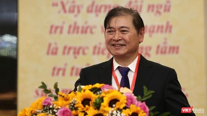 Tân Chủ tịch Liên hiệp các hội Khoa học và Kỹ thuật Việt Nam Phan Xuân Dũng. Ảnh: Phú Xuân.