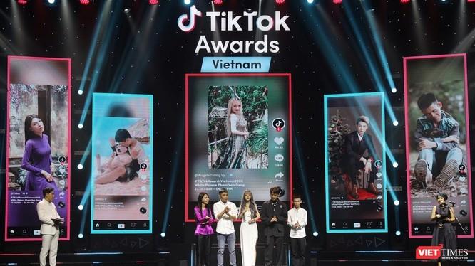 BTC trao giải cho các nhà sáng tạo.