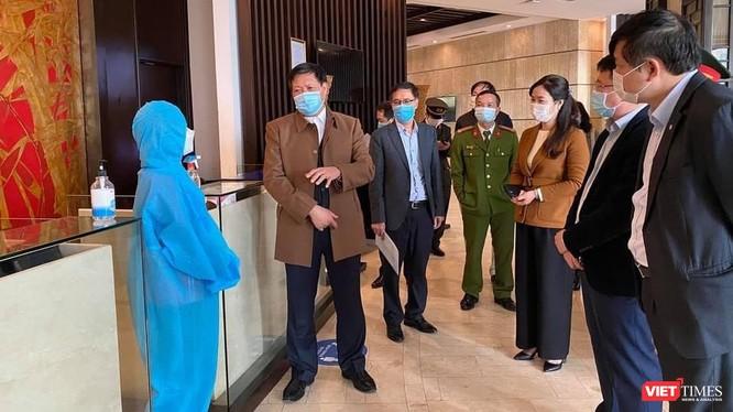 Đoàn công tác số 2 của Ban Chỉ đạo Quốc gia phòng, chống dịch COVID-19 kiểm tra công tác phòng chống dịch tại Quảng Ninh.