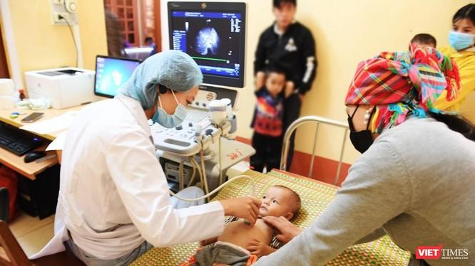 Trẻ em được tầm soát tim bẩm sinh và được hỗ trợ chi phí điều trị nếu phát hiện bệnh