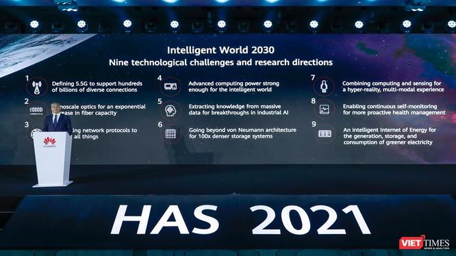 Hội nghị thượng đỉnh các nhà phân tích toàn cầu lần thứ 18 của Huawei tại Thâm Quyến.