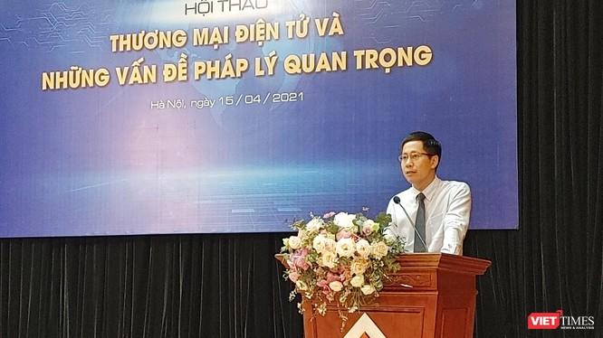 ông Phan Trọng Đạt - Phó Tổng thư ký Trung tâm Trọng tài Quốc tế Việt Nam (VIAC), Phó Giám đốc thường trực Trung tâm Hòa giải Việt Nam (VMC).