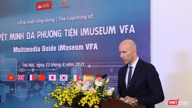 Ông Oriol Solà Pardell - Bí thư thứ nhất, Tham tán văn hoá Đại sứ quán Tây Ban tại Việt Nam.