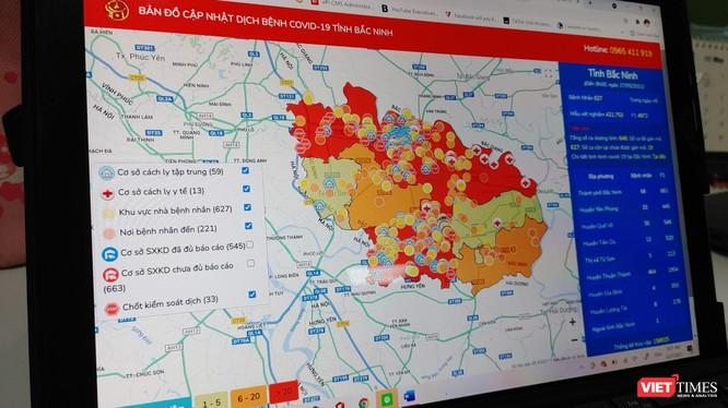 Bắc Ninh ứng dụng công nghệ thông tin phòng chống COVID-19.