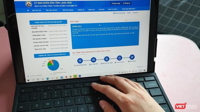 100% dịch vụ công đủ điều kiện đã được Lạng Sơn cung cấp trực tuyến mức 4 trên Cổng dịch vụ công và hệ thống thông tin một cửa điện tử của tỉnh.