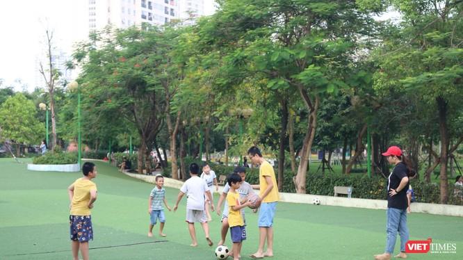 Trẻ em vui chơi. Ảnh: Minh Thúy