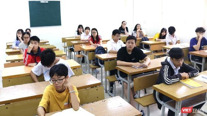 Học sinh trong giờ học. Ảnh: Minh Thúy