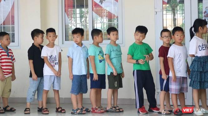 Học sinh tiểu học. Ảnh: Minh Thúy