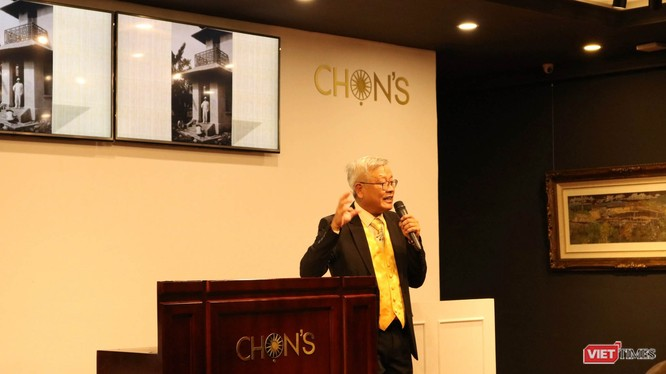 Nhà nghiên cứu Ngô Kim Khôi. Ảnh: Minh Thúy