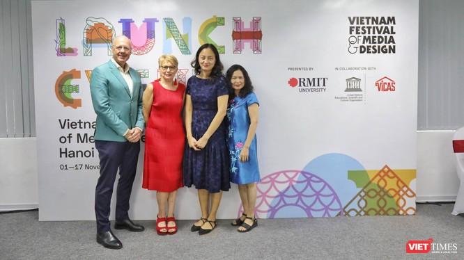 Lễ công bố sự kiện Liên hoan Truyền thông & Thiết kế Việt Nam: Hà Nội 2019.