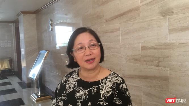 ThS.BS. Nguyễn Thị Ngọc Lan – Phó Tổng cục trưởng Tổng Cục Dân số - Kế hoạch hóa gia đình (Bộ Y tế). Ảnh: Minh Thúy