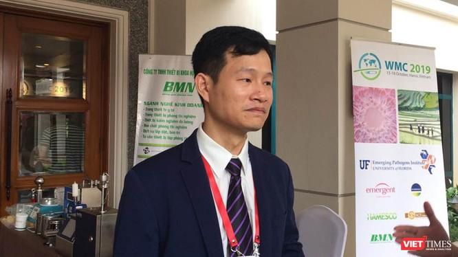 TS. Trịnh Thành Trung – Trưởng phòng Nghiên cứu khoa học, Viện Vi Sinh vật và Công nghệ sinh học, Đại học Quốc gia Hà Nội. Ảnh: Minh Thúy