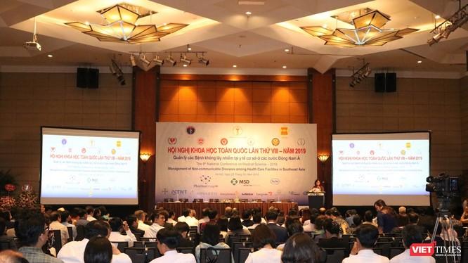 Hội nghị khoa học toàn quốc lần thứ VII năm 2019 về quản lý các bệnh không lây nhiễm tại y tế cơ sở ở các nước Đông Nam Á. Ảnh: Minh Thúy