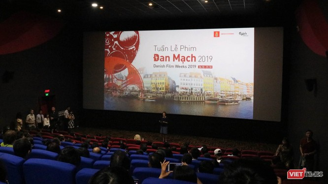 Khai mạc Tuần lễ phim Đan Mạch 2019. Ảnh: Minh Thúy
