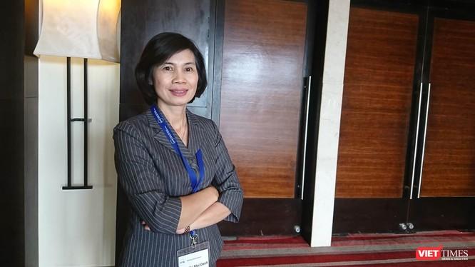 TS. Trần Thị Mai Oanh – Viện trưởng Viện Chiến lược và Chính sách Y tế. Ảnh: Minh Thúy