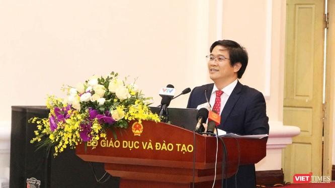 TS. Thái Văn Tài - Vụ trưởng Vụ Giáo dục tiểu học