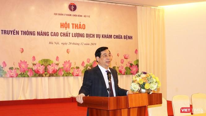 PGS. TS. Lương Ngọc Khuê – Cục trưởng Cục Quản lý Khám chữa bệnh (Bộ Y tế)