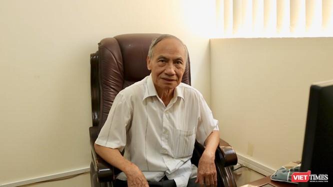 PGS. TSKH. Nguyễn Kế Hào – nguyên Vụ trưởng Vụ Giáo dục Tiểu học, Bộ GD&ĐT. Ảnh: Minh Thúy