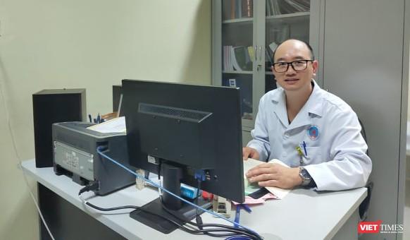 ThS. BS. Vũ Hoài Nam – Phó Trưởng khoa Bệnh nhiệt đới, Bệnh viện Hữu nghị Việt – Xô. Ảnh: Minh Thúy