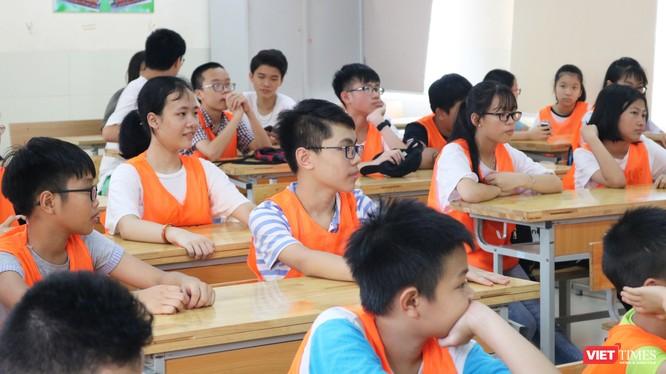 Học sinh trong lớp học. Ảnh: Minh Thúy