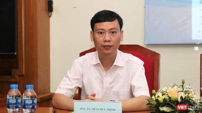 PGS.TS. Trần Huy Thịnh – Trưởng phòng Quản lý Khoa học Công nghệ, Trường Đại học Y Hà Nội. Ảnh: VietTimes