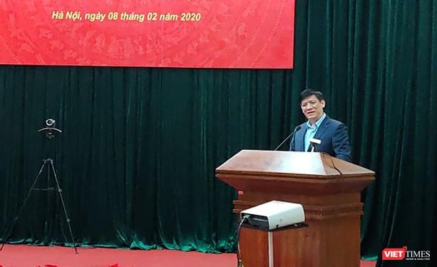 GS. TS. Nguyễn Thanh Long – Thứ trưởng Bộ Y tế. Ảnh: Minh Thúy