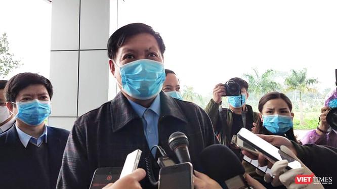 Thứ trưởng Bộ Y tế Đỗ Xuân Tuyên. Ảnh: Minh Thúy