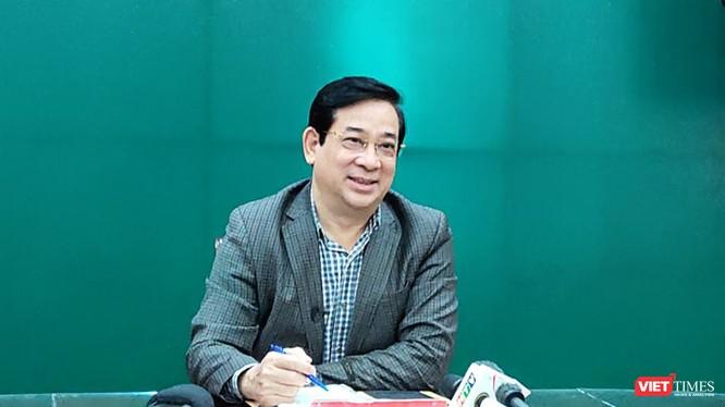PGS. TS. Lương Ngọc Khuê – Cục trưởng Cục Quản lý Khám, chữa bệnh. Ảnh: Minh Thúy