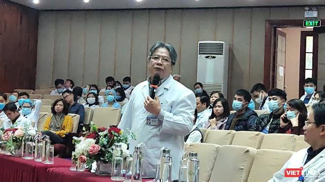 GS.TS. Trần Bình Giang – Giám đốc Bệnh viện Hữu Nghị Việt Đức. Ảnh: Minh Thúy