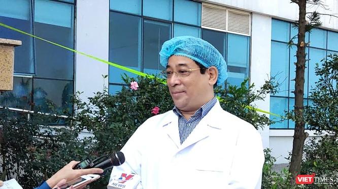 PGS.TS Lương Ngọc Khuê - Cục trưởng Cục quản lý Khám, chữa bệnh, Bộ Y tế. Ảnh: Minh Thúy