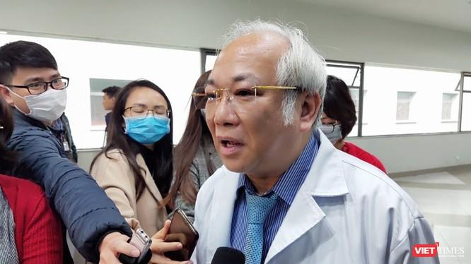 GS. TS. Lê Thanh Hải – Giám đốc Bệnh viện Nhi Trung ương. Ảnh: Minh Thúy